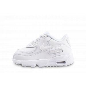 Nike Chaussure Air Max 90 Leather pour Bébé/Petit enfant - Blanc - Taille 27 - Unisex