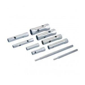 Silverline 571532 - Jeu de 8 clés tubulaires métriques 8 - 22 mm