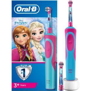 Oral-B Brosse à dents électrique Reine des neiges + 2 brossettes