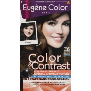 Eugène Color Coloration 7.35 caramel fondant - Color & Contrast