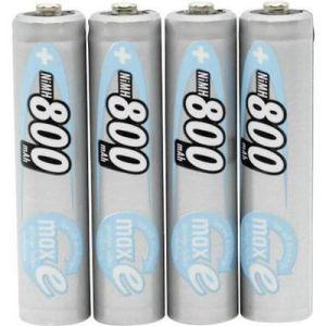 Ansmann Pile rechargeable LR03 maxE AAA ni-mh 800mAh blister de 4