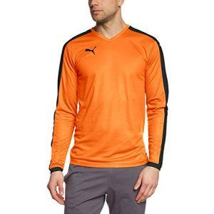 Puma Maillot de Foot Pitch Homme Orange - Taille UK XXL
