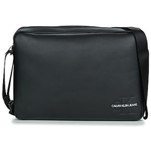 Calvin Klein Sac bandoulière Jeans SMOOTH MONOGRAM LAPTOP BAG Noir - Taille Unique