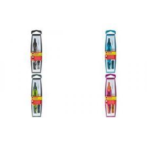 Herlitz 8710055 - Boîte à compas 2 pièces, couleurs assorties