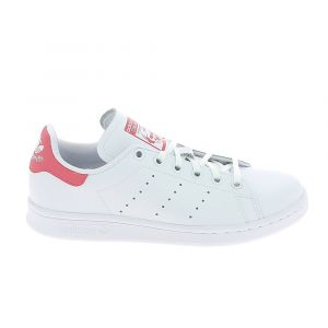 Adidas Basket mode sneaker stan smith jr blanc rose clair 38