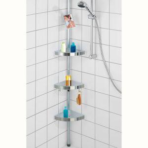 Wenko 20349100 - Etagère de douche télescopique Premium