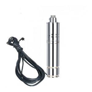 Varan Motors Motors - TSSM4-80-18 Pompe à eau immergée pour puits profond ou forage 80m 1.8Kw, 2.5CV, 4m³/h + 15 mètres de câble