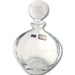Carafe boule à alcool en cristal