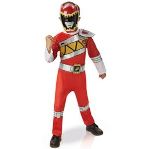 Rubie's Déguisement Power Ranger Rouge : Dino Charge : 7/8 ans