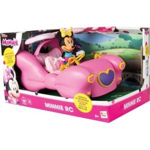IMC Toys Grande voiture radiocommandée Minnie Fashion Doll