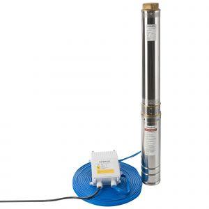Arebos Pompe de puits profond (4 pouces, 2200 W, 9000 l/h)