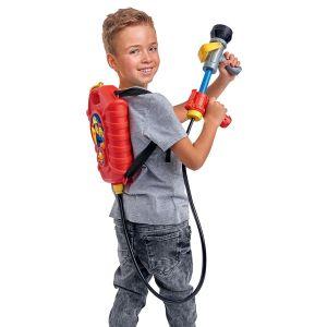 Smoby Sam le Pompier - Pistolet à eau à recharge