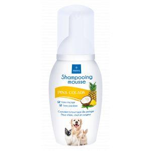 Demavic Shampooing mousse pinacolada - 150 ml - Pour chien, chat et rongeur