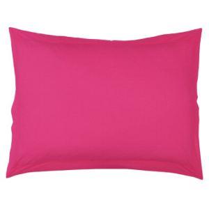 Douceur d'Intérieur Taie d'oreiller à volant plat en coton (50 x 70 cm)