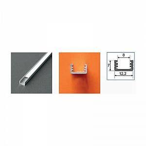 Vision-El Profilé aluminium anodisé LED FIN 1000 mm pour bandeau LED -
