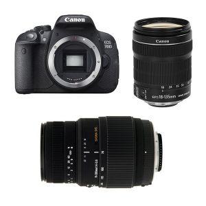 Canon EOS 700D (avec 2 objectifs 18-135mm et Sigma 70-300mm)