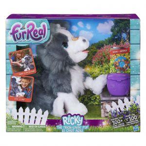 Hasbro Peluche interactive Furreal Ricky Le petit chien très malin