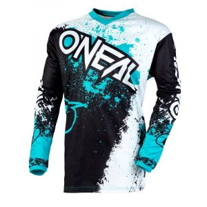 O'neal Maillot cross ELEMENT - IMPACT - BLACK TEAL 2020