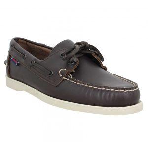 Sebago Chaussures Docksides Portland cuir Homme Marron Marron - Taille 39,40,41,42,43,44,45,46,46 1/2,41 1/2,43 1/2,44 1/2