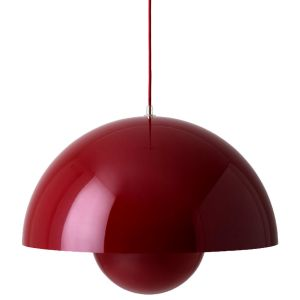 &tradition FlowerPot VP2 Suspension, rouge