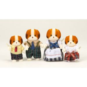 Epoch Sylvanian Families 3139 - Famille chien chiffon