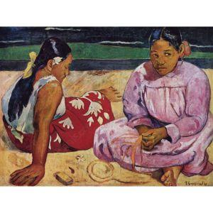 Clementoni Puzzle 1000 pièces Deux tahitiennes sur la plage, Paul Gauguin