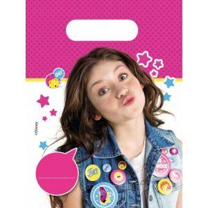 6 sachets plastique Soy Luna