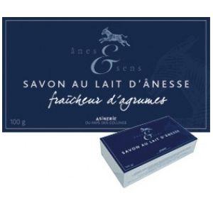 Anes & Sens Savon au lait d'ânesse, parfum agrumes - 100g