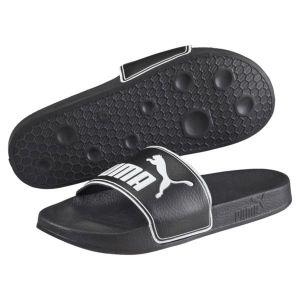 Puma Leadcat, Chaussures de Plage & Piscine Mixte Adulte, Noir (Black-White 01), 40.5 EU