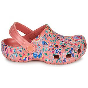 Crocs Sabots LIBERTY LONDON X CLASSIC LIBERTY GRAPHIC CLOG K - Couleur 36 / 37,28 / 29,30 / 31,32 / 33,34 / 35,24 / 25,37 / 38,19 / 20,23 / 24,25 / 26,27 / 28,29 / 30,33 / - Taille Rose