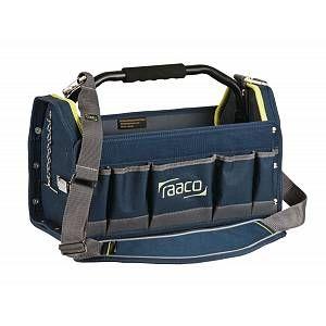 Raaco Sac à outils professionnel 16'' souple avec fond renforcé,