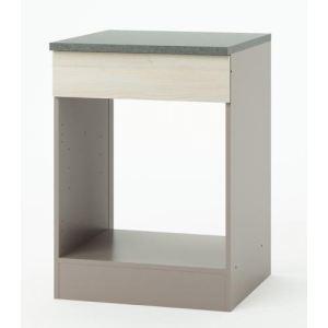meuble bas pour four encastrable chef 60 x 85 cm