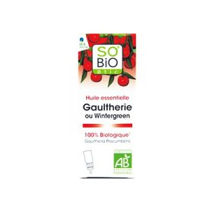 So'Bio Étic Huile essentielle Gaultherie bio