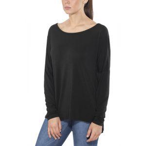 Black Diamond Gym - T-shirt manches longues Femme - gris L T-shirts manches longues