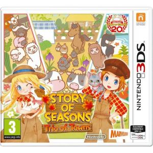 Story of Seasons : Trio of Towns [3DS]