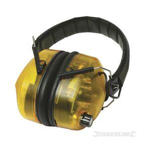 Silverline 659862 - Casque anti-bruit électronique SNR 30 dB