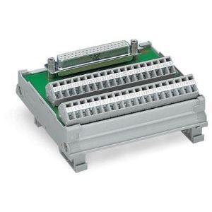 Wago 289-559 - Module interface 50 pôles avec Sub-Min-D, 50 pôles connecteur femelle droit conditionnement 1 pc(s)