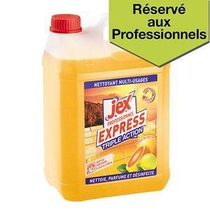 Jex Express Triple Action - Produit de nettoyage - bidon de 5L