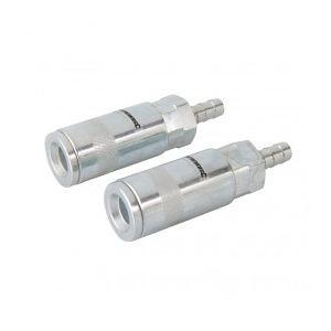 Silverline 282467 - Coupleur rapide à douille cannelée pour tuyau air comprimé 85 mm