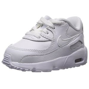 Nike Chaussure Air Max 90 Leather pour Bébé/Petit enfant - Blanc - Taille 25 - Unisex