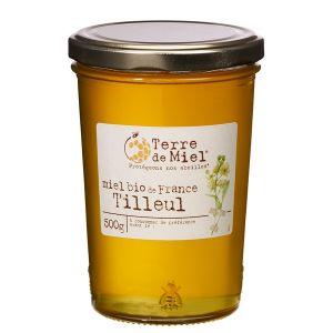 Terre de miel Miel de tilleul bio France 500g