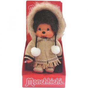 Bandai Peluche garçon Alaska Monchhichi 20 cm