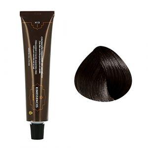 Kin Cosmetics Coloration permanente sans ammoniaque aux 5 huiles 3.0 : Châtain Foncé Sans ammoniaque, Crème 60ml
