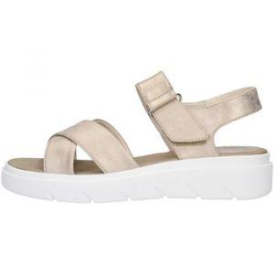 Geox Tamas D92DLE Femme Sandales,Sandales à Plateforme,Dame Sandale,Sandale Plate-Forme,Chaussure d'été,Sandale d'été,Confortable,Semelle épaisse,Beige,39 EU