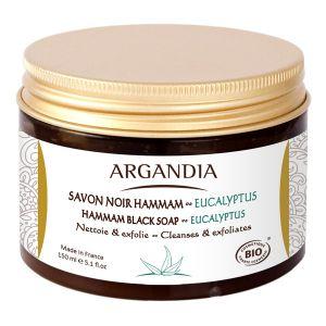 Argandia Savon Noir Hamman Eucalyptus 150ml