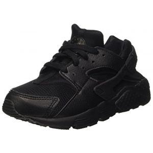 Nike Huarache Run PS, Chaussures de Course pour Entraînement sur Route Garçon, Multicolore (Black/Black/Black 016), 30 EU