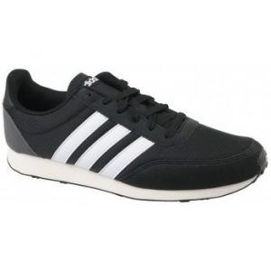 Adidas V Racer 2.0, Chaussures de Running Homme, Noir (Core Black/Solar Red/Footwear White 0), 46 2/3 EU
