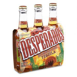 Desperados Bière aromatisée téquila 5,9° - 3 x 33 cl