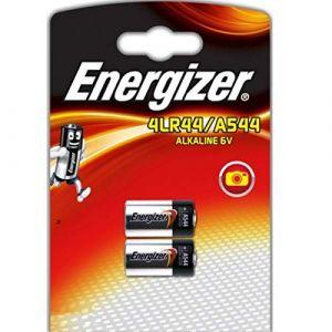 Energizer Lot de 2 piles alcalines A544 4LR44 4G13 L1325 6 V