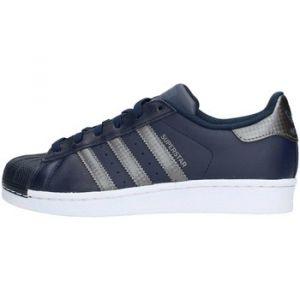 Adidas Superstar J, Chaussures de Fitness Mixte Enfant, Bleu (Maruni/Nocmét /